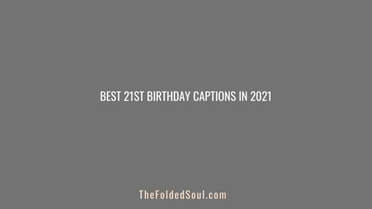 21st Birthday Captions Featured Image