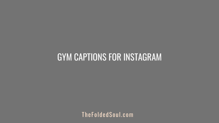 Gym Captions For Instagram Featured Image